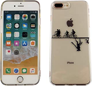 iPhone 7 8 Plus CASEMPIRE Stranger Things Bicycle TPU Case Shock Proof Never Fade Slim Fit Cover for iPhone 7 8 Plus Upside Down