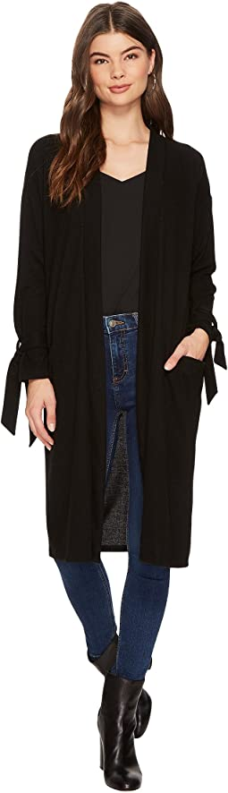1.STATE - Tie Sleeve Long Cardigan