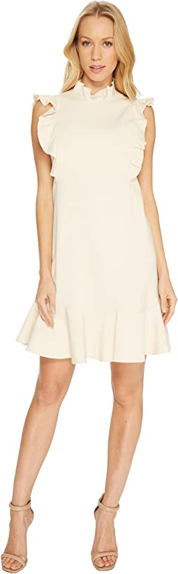 Rebecca Taylor - Sleeveless Ruffle Suiting Dress