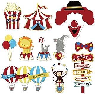 carnival face cutouts