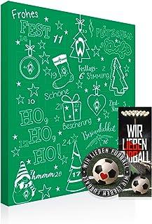 Bremen SV Werder Premium Adventskalender gefüllt inkl. Poster  gratis Lesezeichen & Aufkleber Wir lieben Fussball