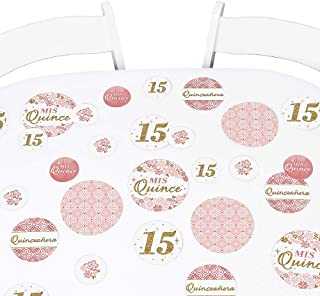 Big Dot of Happiness Mis Quince Anos 12 x 60 inches Petite Quinceanera Sweet 15 Birthday Party Paper Table Runner