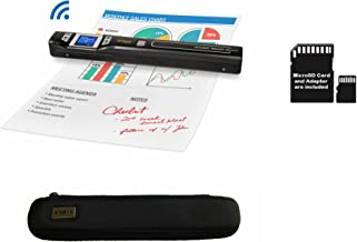 VuPoint ST47 Magic Wand Portable Scanner- Scan On The Go Bundle Includes 8GB Card + Case