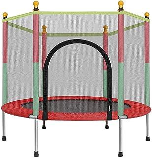 Mother And Me Trampolín Combo con Red - 2020 Cama elástica para niños - Peso máximo: 100 kg - Trampolín para Ejercicios, trampolín para Interiores y Jardines, Ideal para niños y Adultos