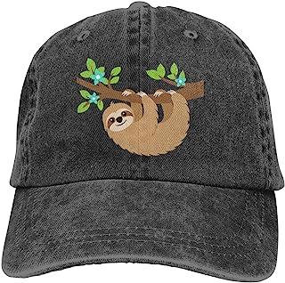Sloth Riding Turtle with Taco Kids Baseball Cap Hat Unisex Toddler Sun Hat Adsjutable Trucker Hat