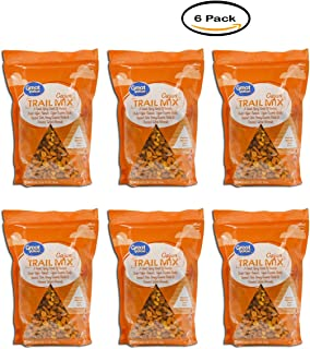 PACK OF 6 - Great Value Cajun Trail Mix, 27 Oz