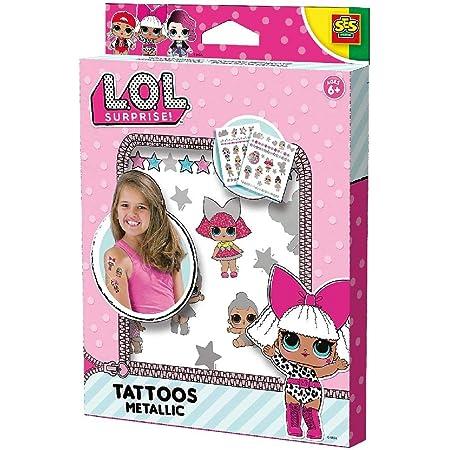 Tatuajes metálicos L.O.L.