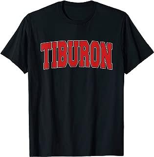 TIBURON CA CALIFORNIA Varsity Style USA Vintage Sports T-Shirt