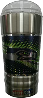 great america product 20 oz Vacuum Insulated Stainless Steel Party Tumbler Cup - Seattle Seahawks