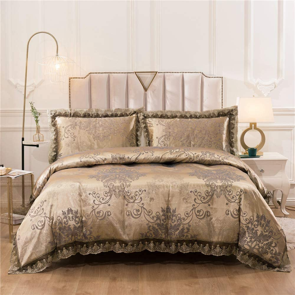 Tucson Mall Duvet Cover Set Satin Embroidery Neoclas European Luxury Bedding New mail order