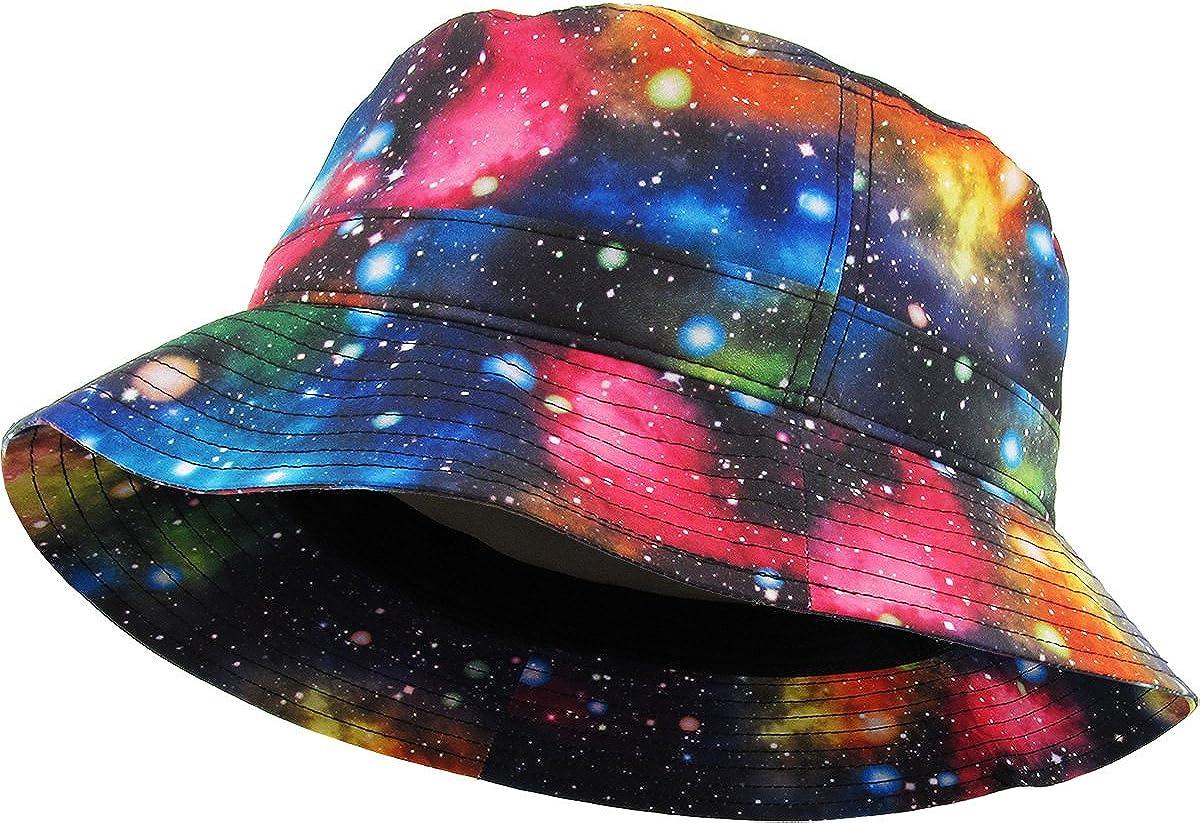 Funky Junque Bucket Hat Packable Outdoor Camping Fishing Rain Safari Boonie Cap