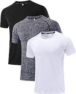 Men's Mesh Quick-Dry Short Sleeve Workout Shirt