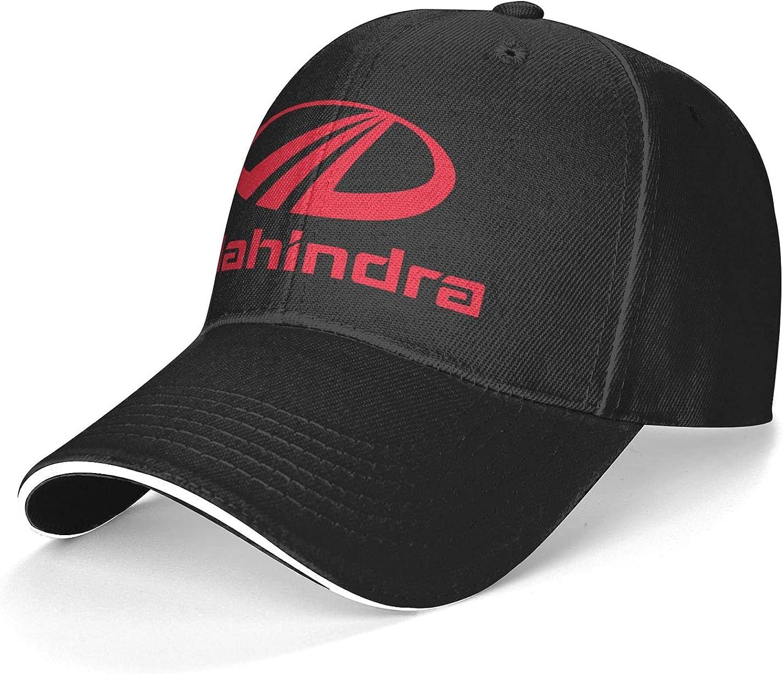 Mahindra Sandwich Caps Unique Baseball Caps Trucker Cap Adjustable for Men Women