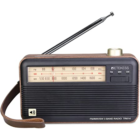 Panasonic RF-562D FM MW SW 3-Band Portable Receiver Radio Shortwave Transistor