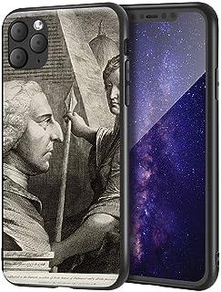 James Barry iPhone 11 Pro Max用ケース/ファインアート携帯電話ケース/高解像度ジクレーレベルUV複製プリント、携帯電話カバー(ウィリアムピットアールオブチャタム)