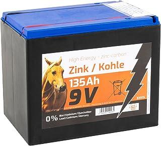Weidezaunbatterien 4x 9V Zink-Kohle Trockenbatterie 100Ah Elektrozaun Batterie