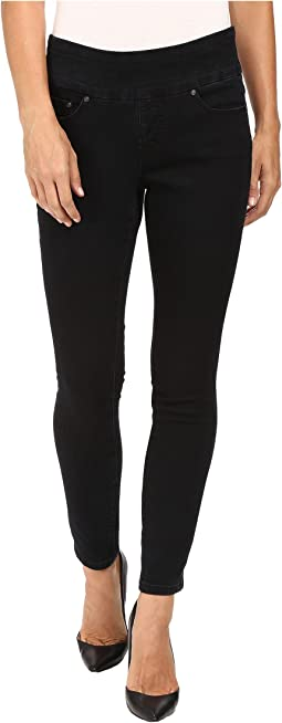 Petite Nora Pull-On Skinny in Comfort Denim in Black Void