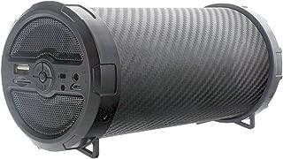 FM Radio Bluetooth Wireless Stereo Speaker Black Rechargeable
