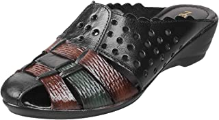 Metro Women's 31-8864 Leather Mules