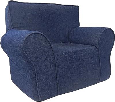 Fun Furnishings Fun Foam Chair Denim