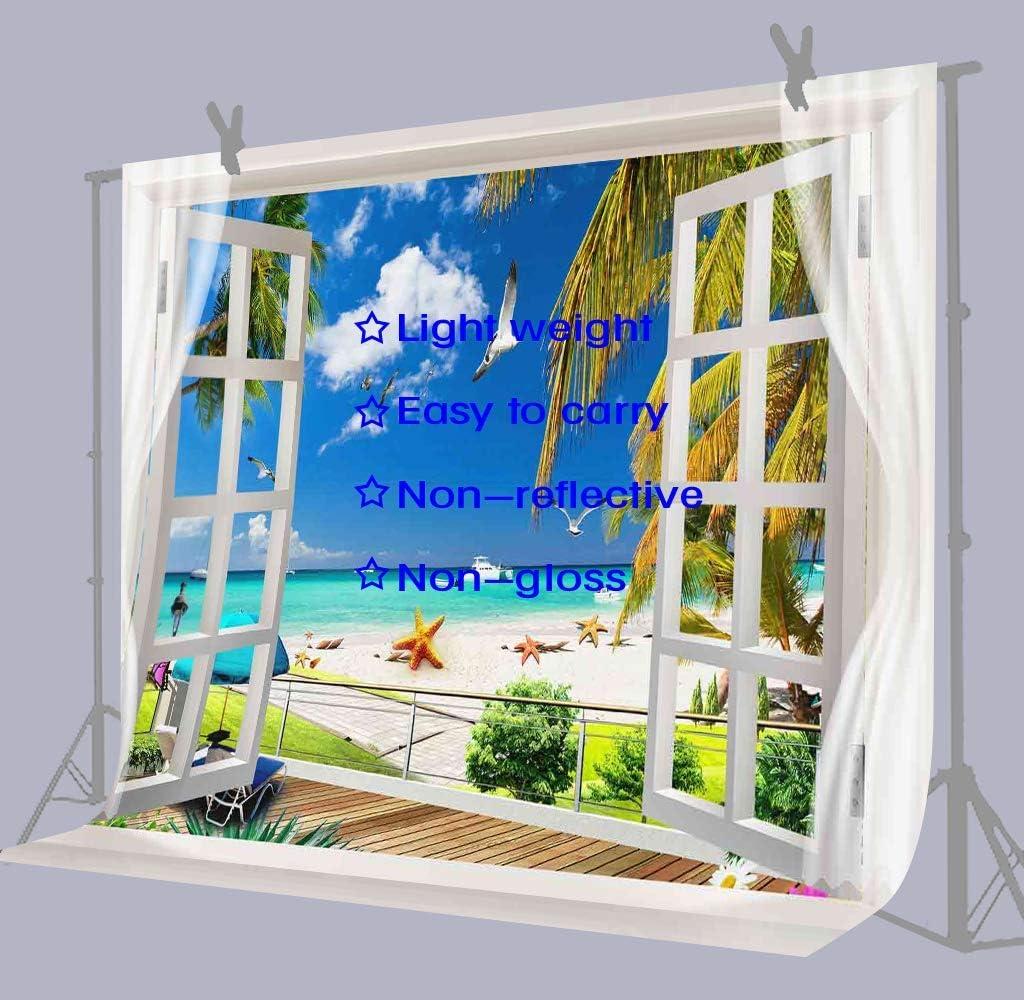 10x6.5ft Beach Coconut Tree Background Romantic Wedding Photography Backdrop Photo Props LHFU374