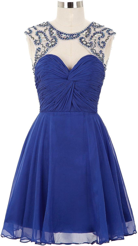 Fanciest Women's Short Homecoming Dresses 2016 Junior Bridesmaid Dress