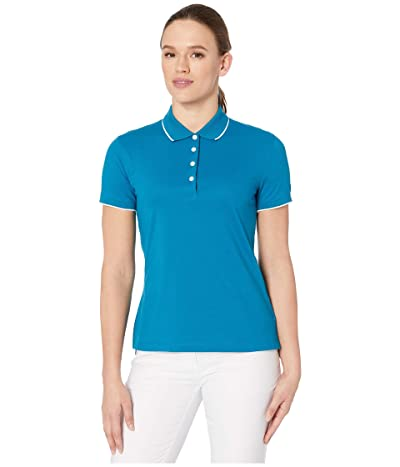 Nike Golf Dry Short Sleeve Ace Polo Pro (Green Abyss/Sail/Green Abyss) Women