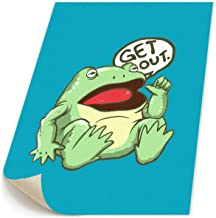 SISHANQE Get Out Something Awful Frog Paintings Printed On Canvas Wall Art Decor Printed Frameless for Home 19