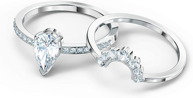 1. Swarovski Women's Attract Ring Collection