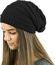 TOSKATOK Ladies Knit Slouch Winter Hat/Beanie