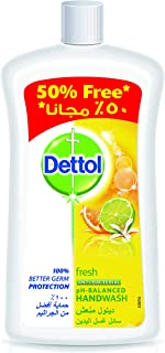 Dettol Fresh Anti-Bacterial Liquid Hand Wash 1000ml