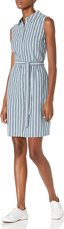 Tommy Hilfiger Women's Dress Cotton Shirt 国産品 流行のアイテム