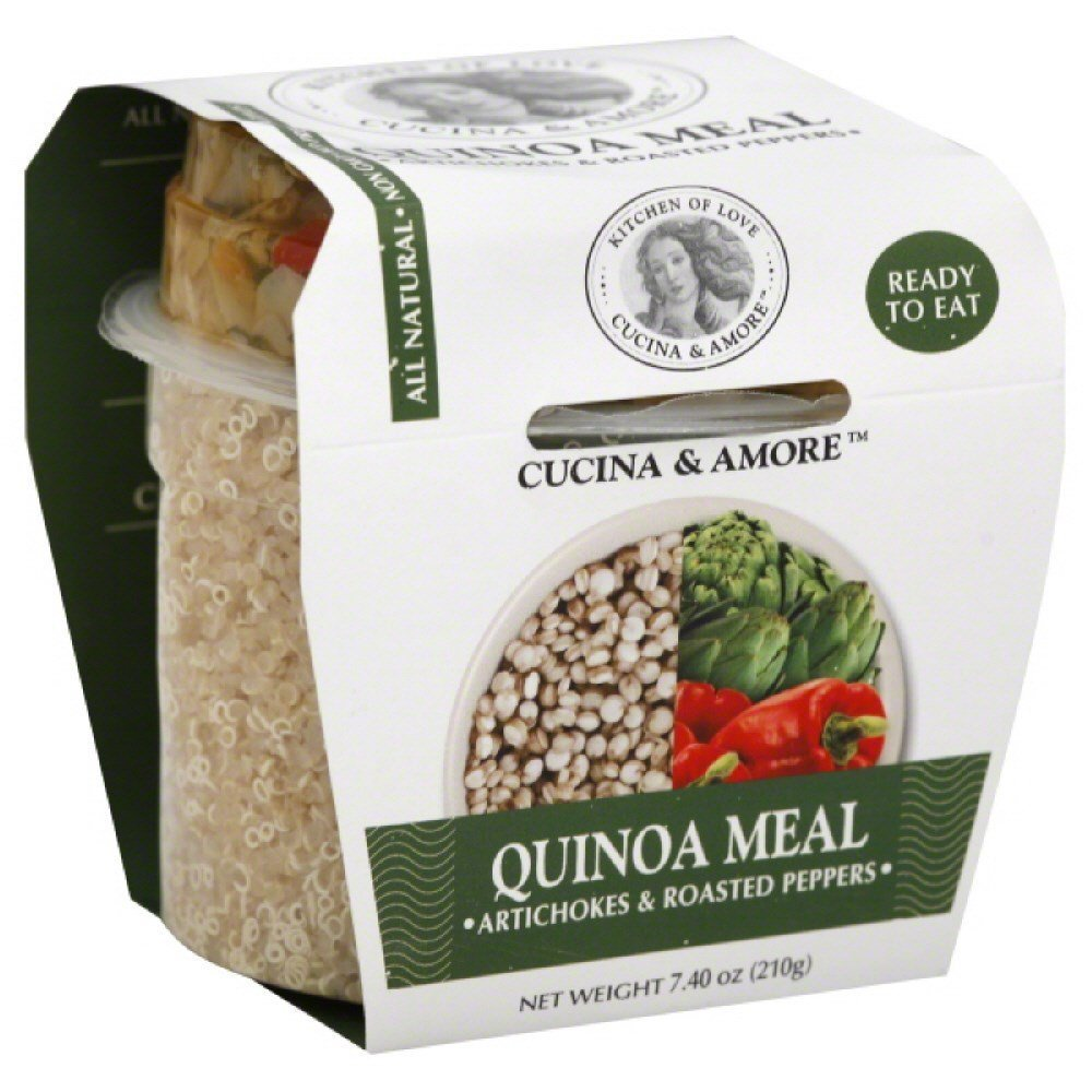 Cucina Amore Quinoa Meal Max 69% OFF Oz Large-scale sale Artchk Rdst 7.9