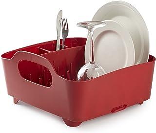 Umbra 330590-505 Escurreplatos Tub Rojo