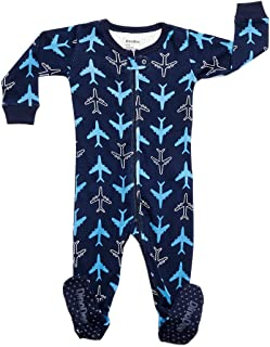 DinoDee Baby Boys Footed Pajamas Sleeper 100% Cotton Kids Pjs (6 Months-5 Toddler)