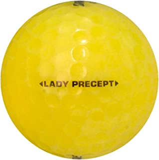 Bridgestone 50 Lady Precept Yellow - Near Mint (AAAA) Grade - Recycled (Used) Golf Balls