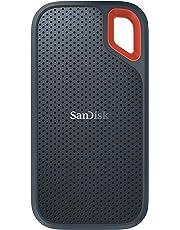 SanDisk 外付SSD 250GB エクストリーム ポータブル 読出し速度 最大550MB/秒 USB3.1 Gen2対応 データ復旧ソフト付 SDSSDE60-250G-G25 [並行輸入品]