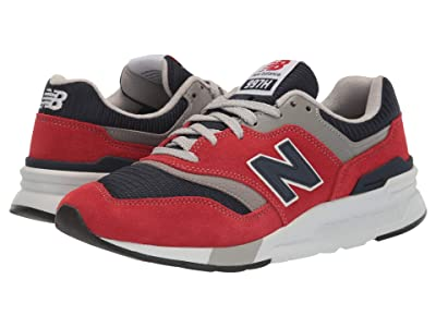 New Balance Classics 997Hv1-USA (Team Red/Pigment) Men