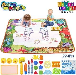 Conthfut WaterDrawingmat Aqua Magic Dinosaur Play Doodle mat, 39.5
