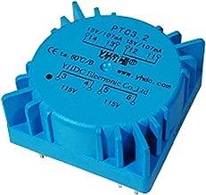 YHDC PTC3.2 Output Power 3.2VA Input 2*115V Output 2*15V Epoxy Encapsulated Toroidal Transformer PCB Welding