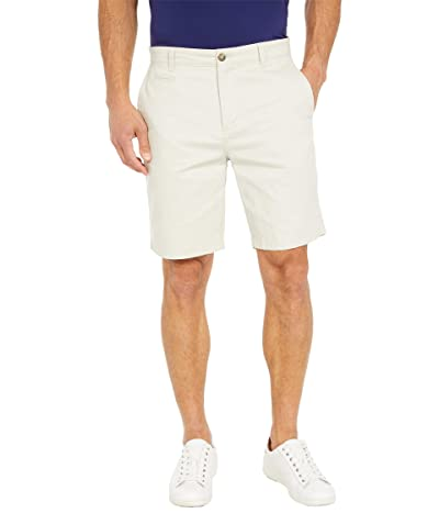 johnnie-O Neal Stretch Twill Shorts (Stone) Men