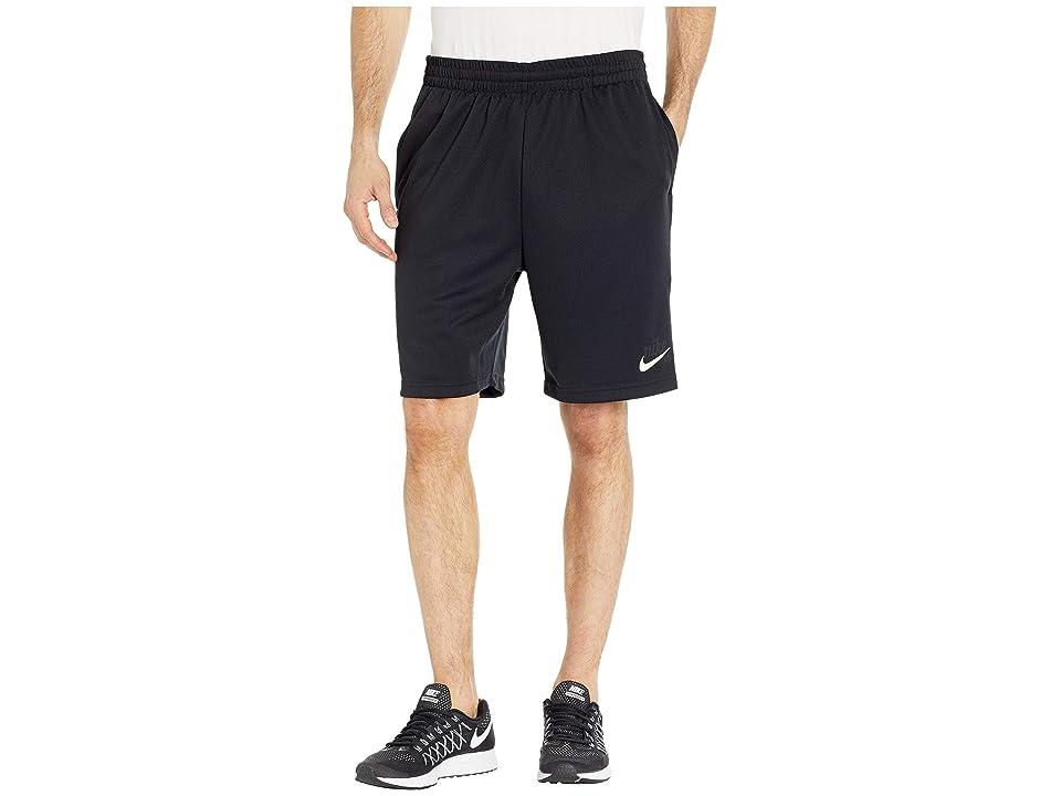 Nike SB Sunday Morn Dry Shorts (Black/White/Barely Volt) Men