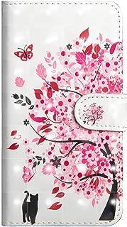 OMATENTI iPhone 7 / iPhone 8 ケース, ファッション人気 高級PUレザー カードポケット スタンド機能 薄型 スマホケース 手帳型ケース 付き 落下防止 全面保護 衝撃吸収 保護カバー iPhone 7 / iPhone 8 用, さくら