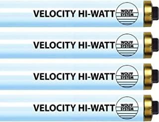 Wolff Velocity Hi-Watt F73 HO 100-120W RDC Tanning Lamp - Premium Bronzing Bulbs! (20)