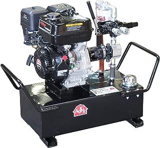 ToolTuff Portable Hydraulic Power Unit: 7 gpm, 1350psi, 9HP Gas Engine, 10 Gal Tank