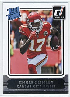 Football NFL 2015 Donruss Rated Rookies #222 Chris Conley #222 NM+ Chiefs