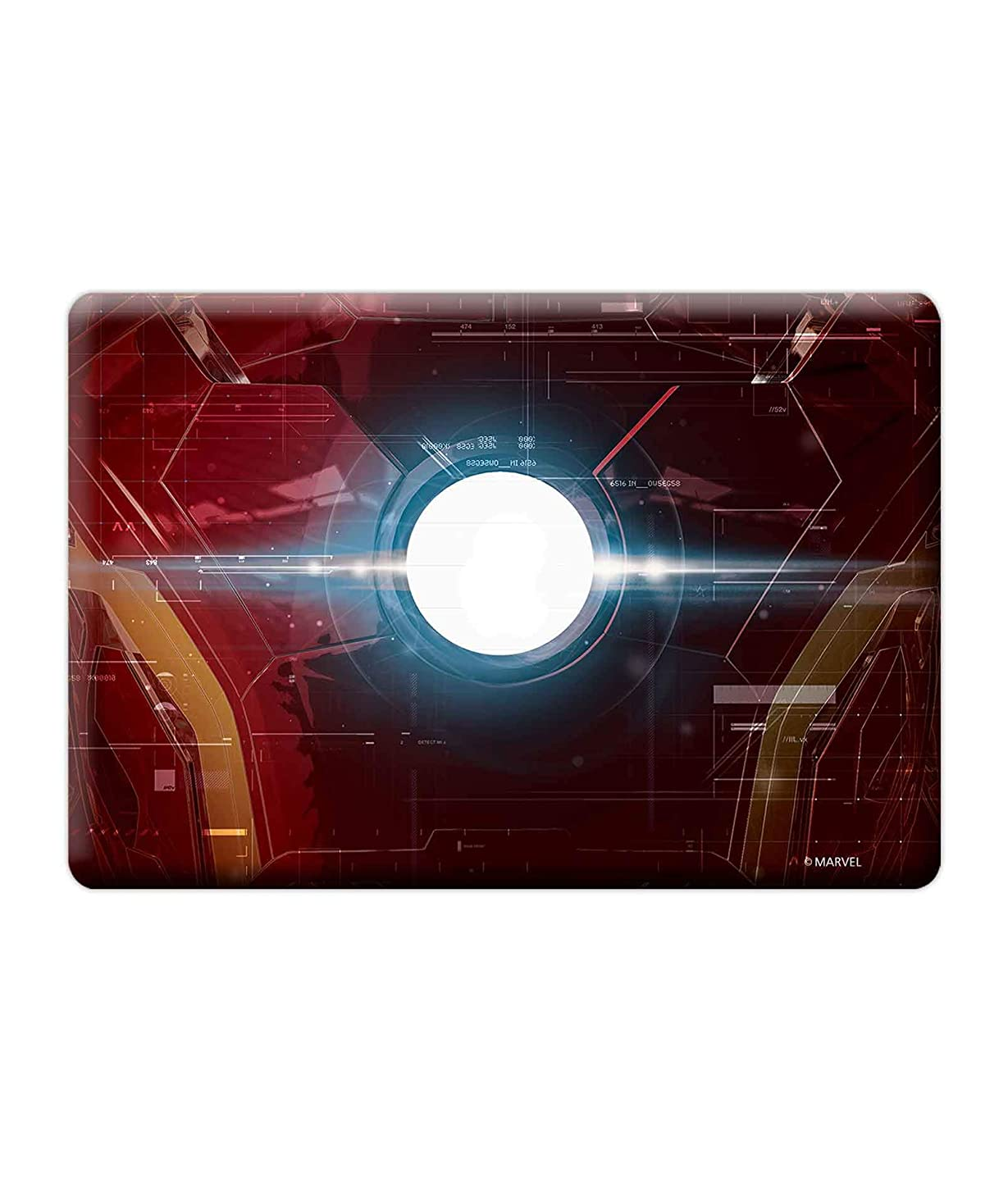 CelfiDesign Official Merchandise Suit up Ironman of Marvel Laptop Skin Covers Fits for MacBook Air 13 Inch Multi-Colored Models for Screen Size Dimension (Multicolour)