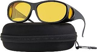 رانندگی در شب عینک ضد تابش قطبی HD دید در شب رانندگی زرد متناسب با رانندگی عینک آفتابی زن و مرد