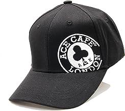 ACE CAFE LONDON COTTON CAP BK/WH Free Size AC006CC