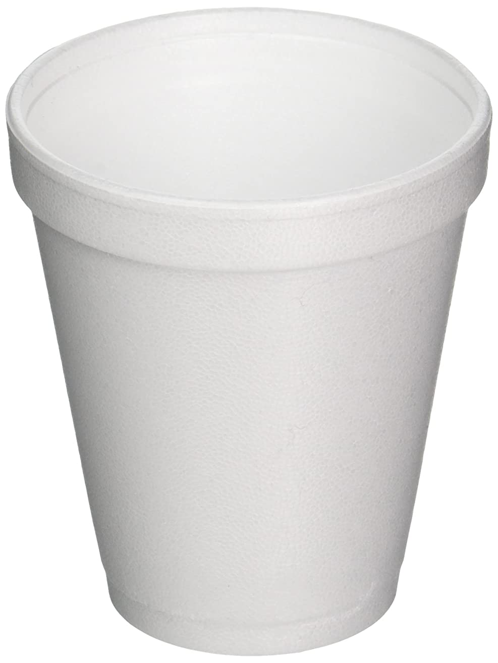 DART CONTAINER J-Style Styrofoam Drink Cups (1000 Per Case), White, 8 oz
